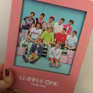 WANNA ONE 迷你專輯To Be One粉版