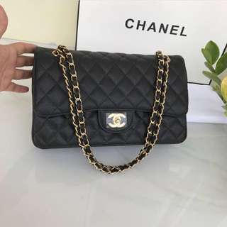 6f779a0b4a52 CHANEL CLASSIC BAG 30 CAVIAR GHW GOLD HARDWARE MIRROR QUALITY 1:1 AUTHENTIC