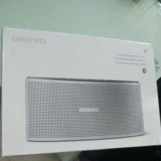 Onkyo bluetooth specker X3 Brand new 100%