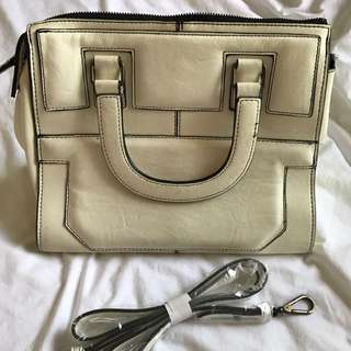 Topshop White Bag with Strap