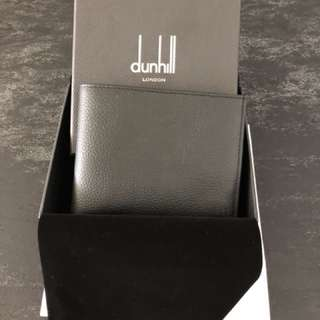 Dunhill Leather Wallet (Black)