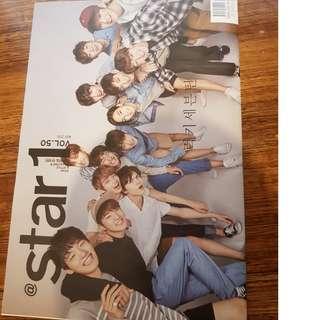 STAR 1 MAGAZINE SEVENTEEN × IOI × PARKHAEJIN × LEESIYOUNG