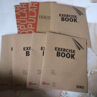 XL squares Excercise Books