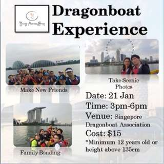 Dragonboat Experience