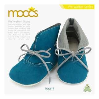 Freddie the Frog Shoes : Handcraft Baby IWASHI MOCCS