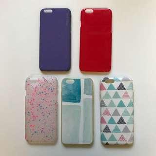 iPhone 6/6s電話殼 ($20一個 each)
