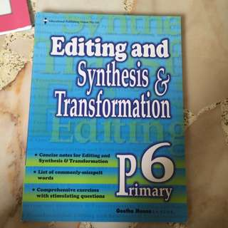 Editing And Synthesis & Transformation