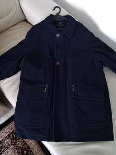 Authentic Paul Berman Wool & Cashmere Blend winter jacket