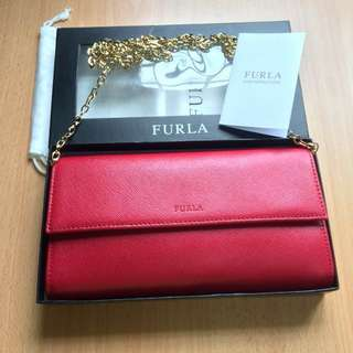 NEW Furla Crossbody/Wallet on Chain