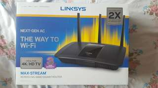 Linksys Wireless Router AC1900-EA7500 NEW