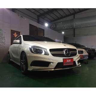 2015 BENZ A45 白