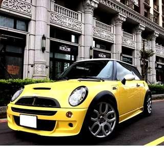 【北部認證中古車】迷你Mini COOPER S(手排) 免頭期款 免付訂金 雙證件可全額貸款購車