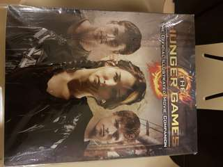 The Hunger Games Movie Book and Magazine