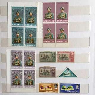 汶莱邮票7套(一套用过)7sets(1set use)