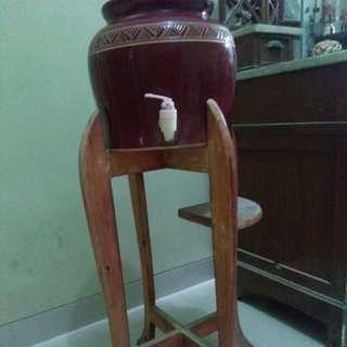 Jar mineral water