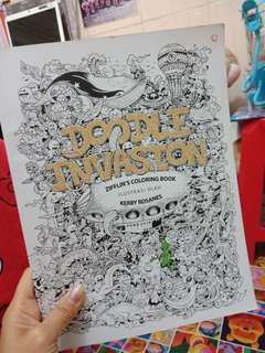 Doodle drawing book