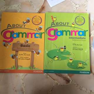 About Grammar Basic And Intermediate Reference Book