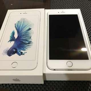 🚚 一手機 iPhone 6s plus 銀 16G 不議價