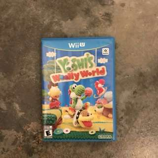Yoshi's woolly world wii u (US)