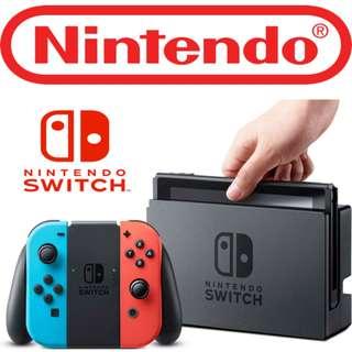100%全新 香港行貨 任天堂 Nintendo Switch 旺角店交收....信心保證..