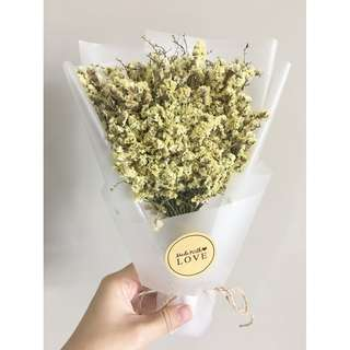[IN STOCK] Flower Bouquet with box (Yellow)