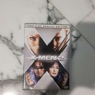 Xmen 2 DVD