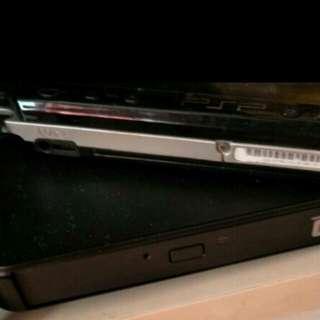 Acer CD reader and Psp 1000