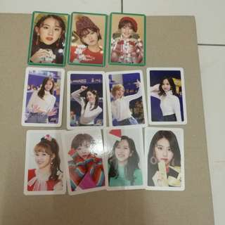 Twice merry happy photocard sell