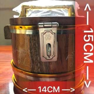 !($68)! - Thai Amulet - Medium Size Wealth Bucket - Lp SomPong - Thai Amulets