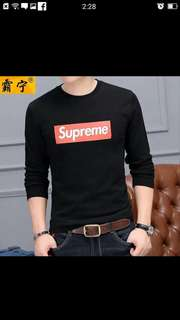 Supreme long sleved