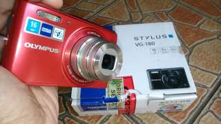 Kamera digital olympus vg180