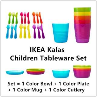 [IKEA] KALAS Children Tableware