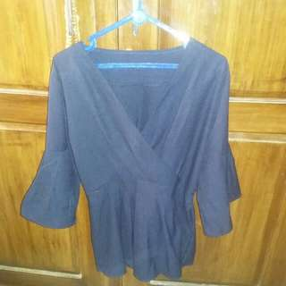 Blouse navy (new)