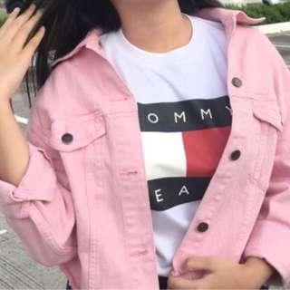 H&M PinkDenim Jacket
