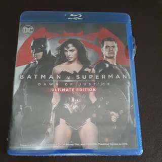 BNIB Batman v Superman BluRay