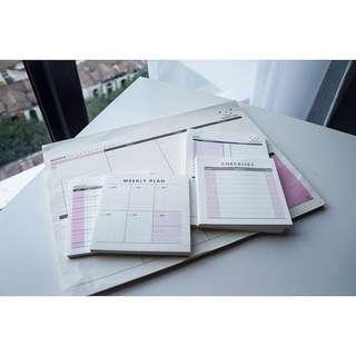 Planner Pad Set