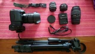 EOS Canon 7D set