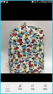 Mickey Mouse Backpack Bag School Bag For Children In Different Designs