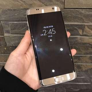 [平賣]SAMSUNG S7 EDGE 32GB 有鬼影