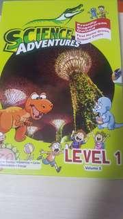 Science Adventures Level 1 volume 3