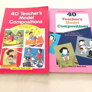 Teacher's model compositions
