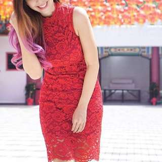 Modern Cheongsam | Red Dress | Cheongsam