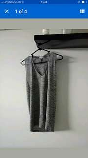 SEED HERITAGE Grey Top l Fits sizes 10-14