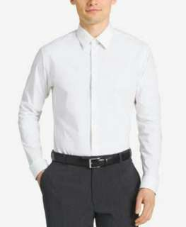 CALVIN KLEIN Steel Dress Shirt with French Sleeves l Size XL