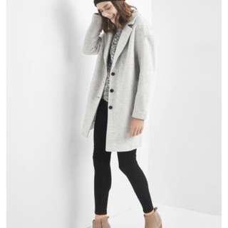 過年前特價!全新Gap羊毛大衣