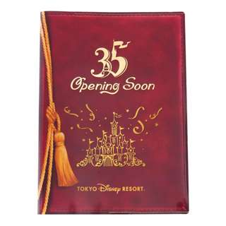 Tokyo Disneysea Disneyland Disney Resorts 35th Anniversary Limited Mickey Mouse Double Pocket Holder File Preorder