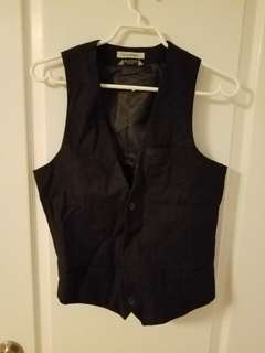 Le Chateau Dress Shirt Vest (XS)