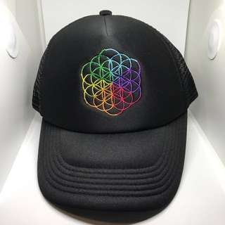 Coldplay 'A Head Full Of Dreams' 2017 Singapore Tour Snapback Cap