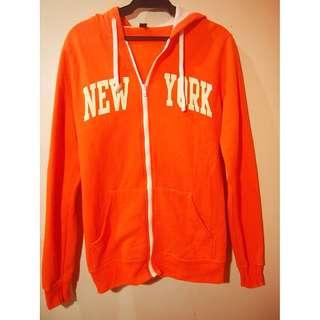 New York hoodie jacket parka