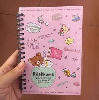 Notes rilakuma